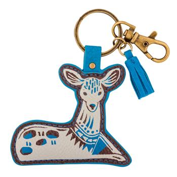MODERN FOLKLORIC KEY CHAIN DOE (F15)