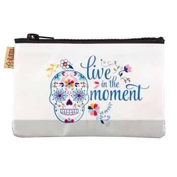 COIN PURSE  SUGAR SKULL (S17)