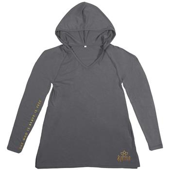 WEEKEND HOODIES CHARCOAL LARGE (S18)
