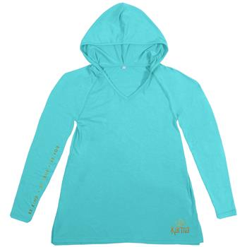 WEEKEND HOODIES TURQUOISE MEDIUM (S18)