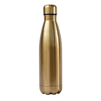 WATER BOTTLE  GOLD (S17)