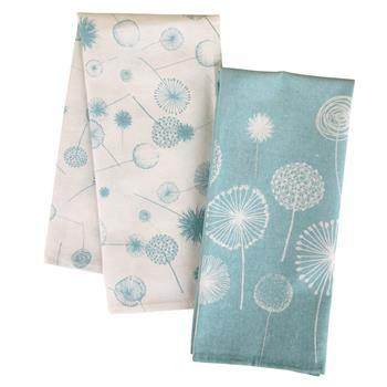 CAMP TEA TOWELS DANDELION (S16)