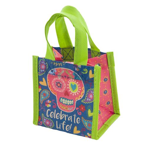 TINY GIFT BAG SUGAR SKULL  (F17)