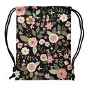 DRAWSTRING BACKPACK FLOWER (S18)