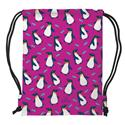 DRAWSTRING BACKPACK PENGUIN (S16)