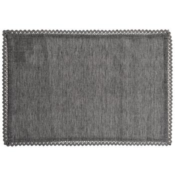 NAPA GREY LACE PLACEMAT S/4