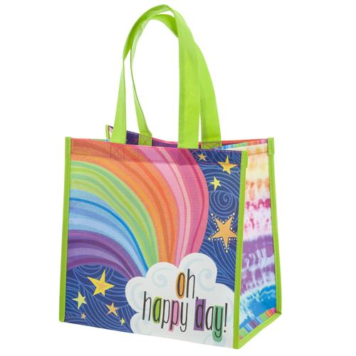 MEDIUM GIFT BAG RAINBOW (F17)