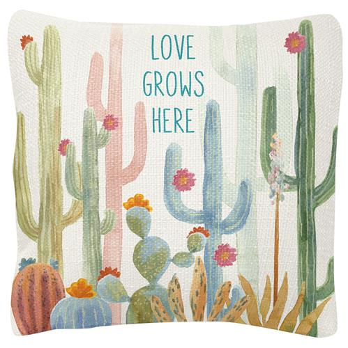 SQUARE PILLOWS  CACTUS (S19)