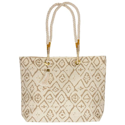 BEACH TOTE  CREAM (S19)