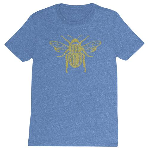 DISTRESSED T SHIRT BEE BOLD LARGE (F19)