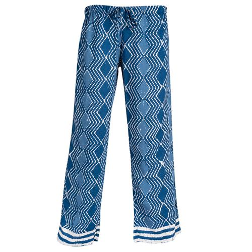 LOUNGE PANTS BLUE BATIK L/XL