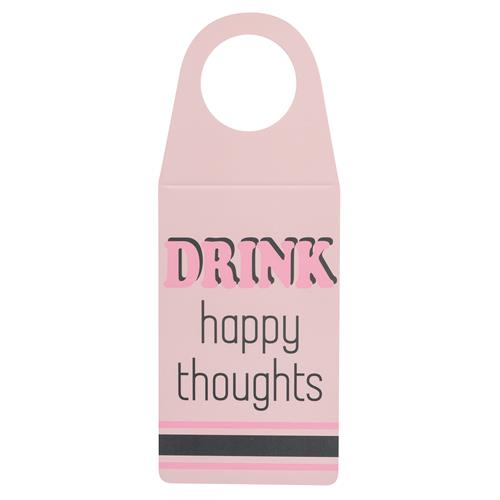 WINE TAG HAPPY THOUGHTS  (S20)