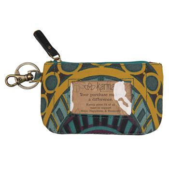 KENYA ZIP ID CASE TURQUOISE ARCH (S14)