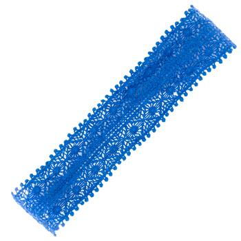 GLOBAL COLOR LACE HEADBAND ZELDA COBALT (S16)