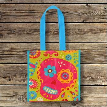 Karma | Mini Reusable Shopping Tote Sugar Skull