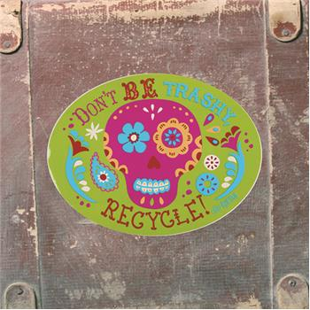 Karma | Vinyl Decals Sugar Skull