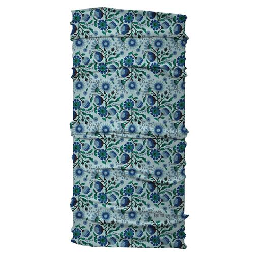 WIDE HEADBAND  TEAL FLORAL (S20)