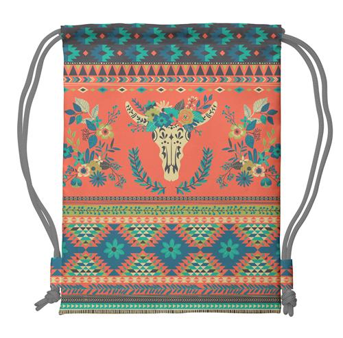 DRAWSTRING BACKPACK LONGHORN (S18)