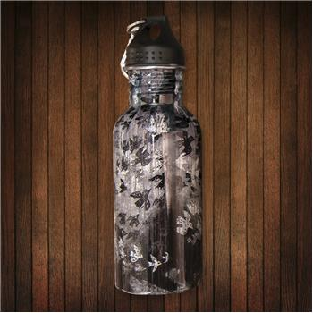 STAINLESS STEEL WATER BOTTLE BIRDS (F15)