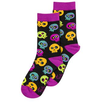 SOCKS CANDY SKULL (S16)