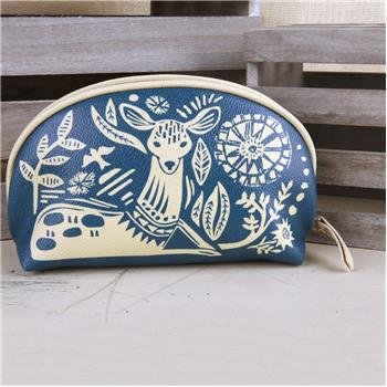 MODERN FOLKLORIC COSMETIC BAG DOE (S16)