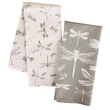 CAMP TEA TOWELS DRAGONFLY (S16)