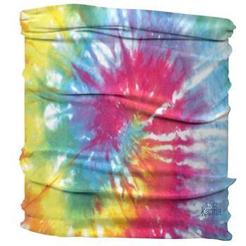 HALF HEADBAND  MULTI COLOR TIE DYE (F17)