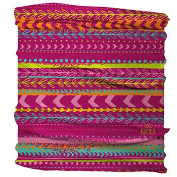 HALF HEADBAND  PINK MULTI STRIPES (F17)