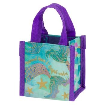 RECYCLED TINY GIFT BAG MERMAID