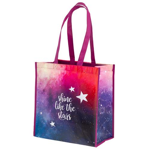 RECYCLED LARGE GIFT BAG GALAXY