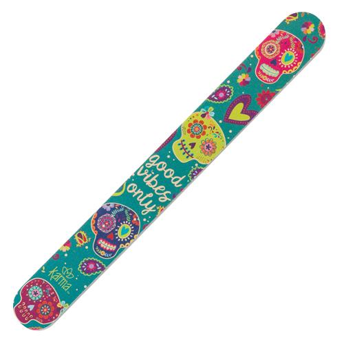 EMERY BOARDS SUGAR SKULL (S18)