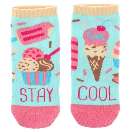 ANKLE SOCKS ICE CREAM (S19)