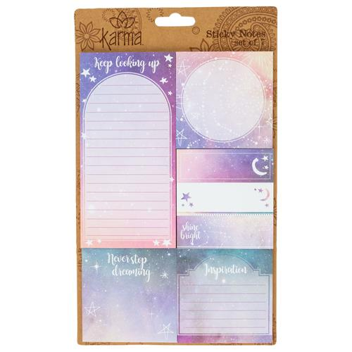 STICKY NOTE SET GALAXY (F19)
