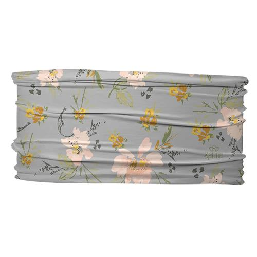 THIN HEADBANDS  ANTIQUE GRAY FLORAL (S20)