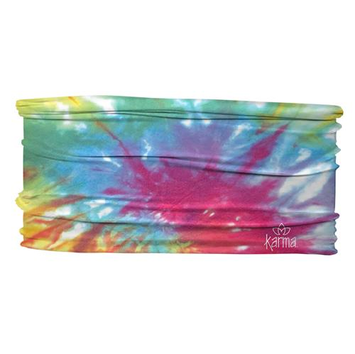 THIN HEADBANDS  RAINBOW TIE DYE  (S19)
