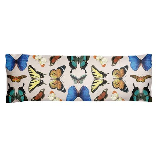 LONG LUMBAR PILLOW  BUTTERFLY (S20)