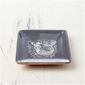 NAUTICAL SQUARE RING BOWL MERMAID (F16)