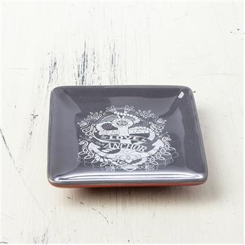 NAUTICAL SQUARE RING BOWL ANCHOR (F16)