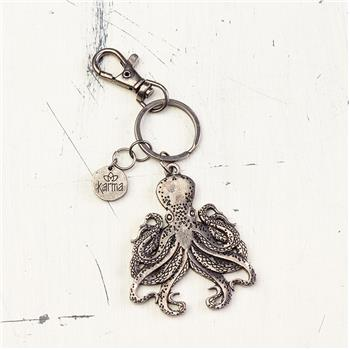 NAUTICAL KEY FOB OCTOPUS (F16)