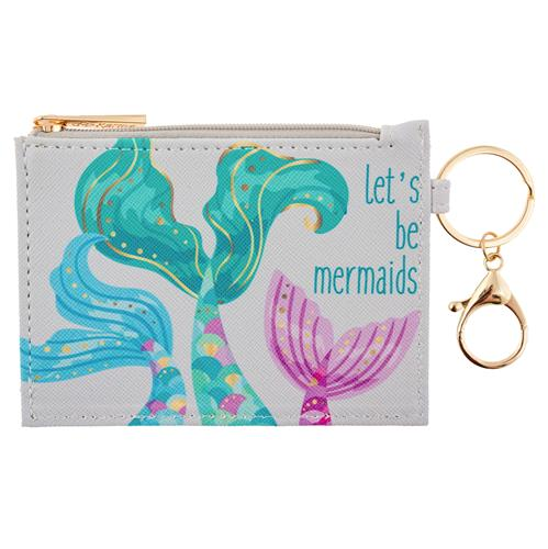 ZIP ID HOLDER MERMAID