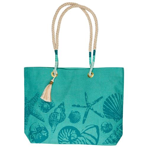 BEACH TOTE TEAL (S19)