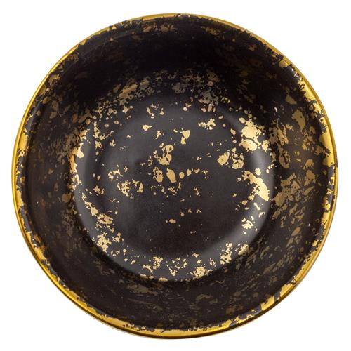 SMALL ROUND TRINKET TRAY BLACK SPEC (F19)