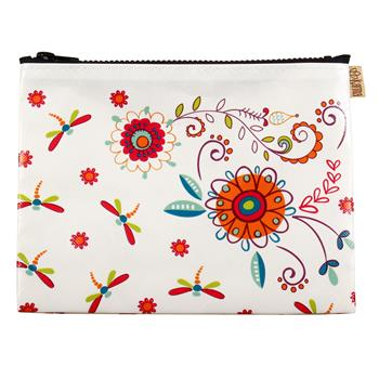 COSMETIC BAG  FLOWER (S17)