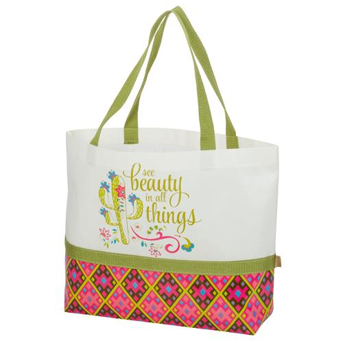 SHOPPING TOTE  CACTUS (S17)