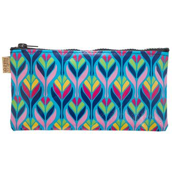 FIESTA BRUSH BAG  SPANISH BLUE (S17)