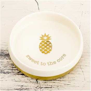 TRINKET BOWL  PINEAPPLE (S17)
