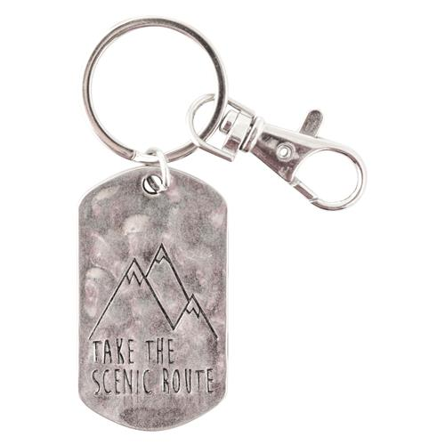 DOGTAG KEYCHAIN SCENIC ROUTE (S18)