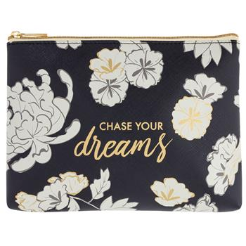 COSMETIC BAG ASIAN FLORAL