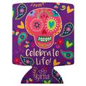 CAN COOLER SUGAR SKULL (S18)